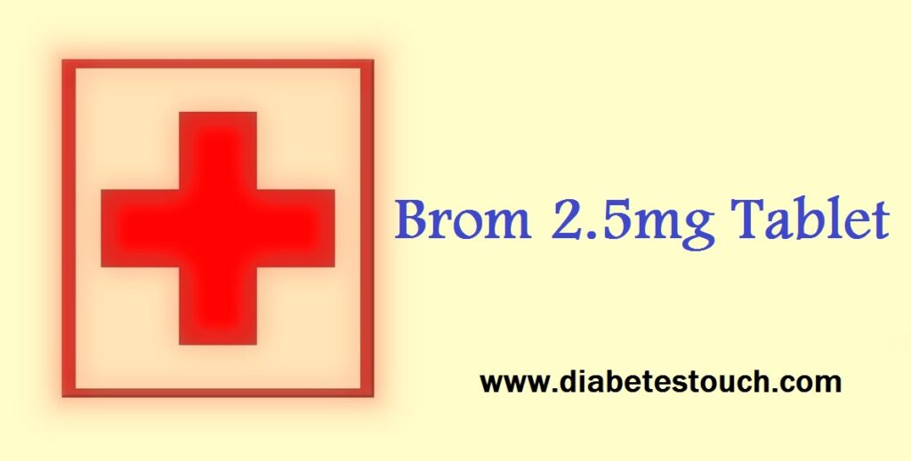 Brom 2.5mg Tablet